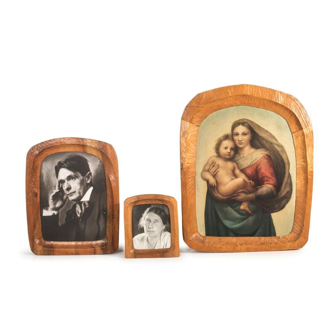 Three anthroposophic frames, 1950s