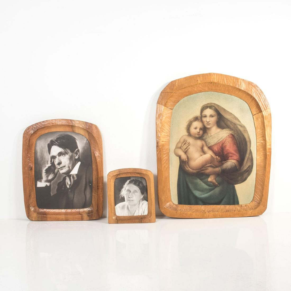 Three anthroposophic frames, 1950s - 2