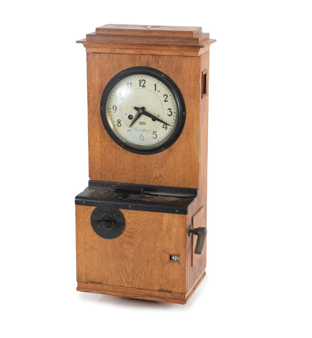 Timestamp clock, 1920s