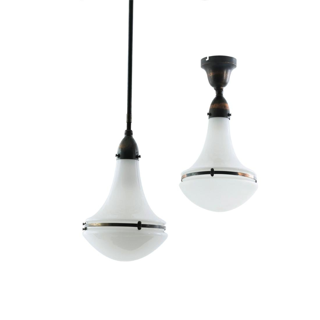 Two ceiling lights, c. 1925