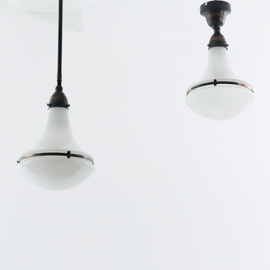 Two ceiling lights, c. 1925 - 3
