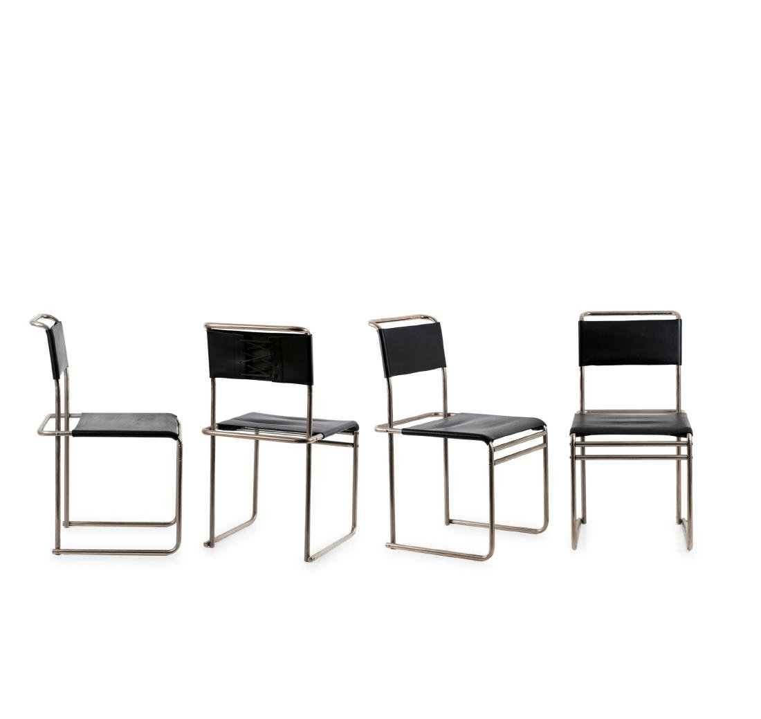 Four 'B 5' side chairs, 1926