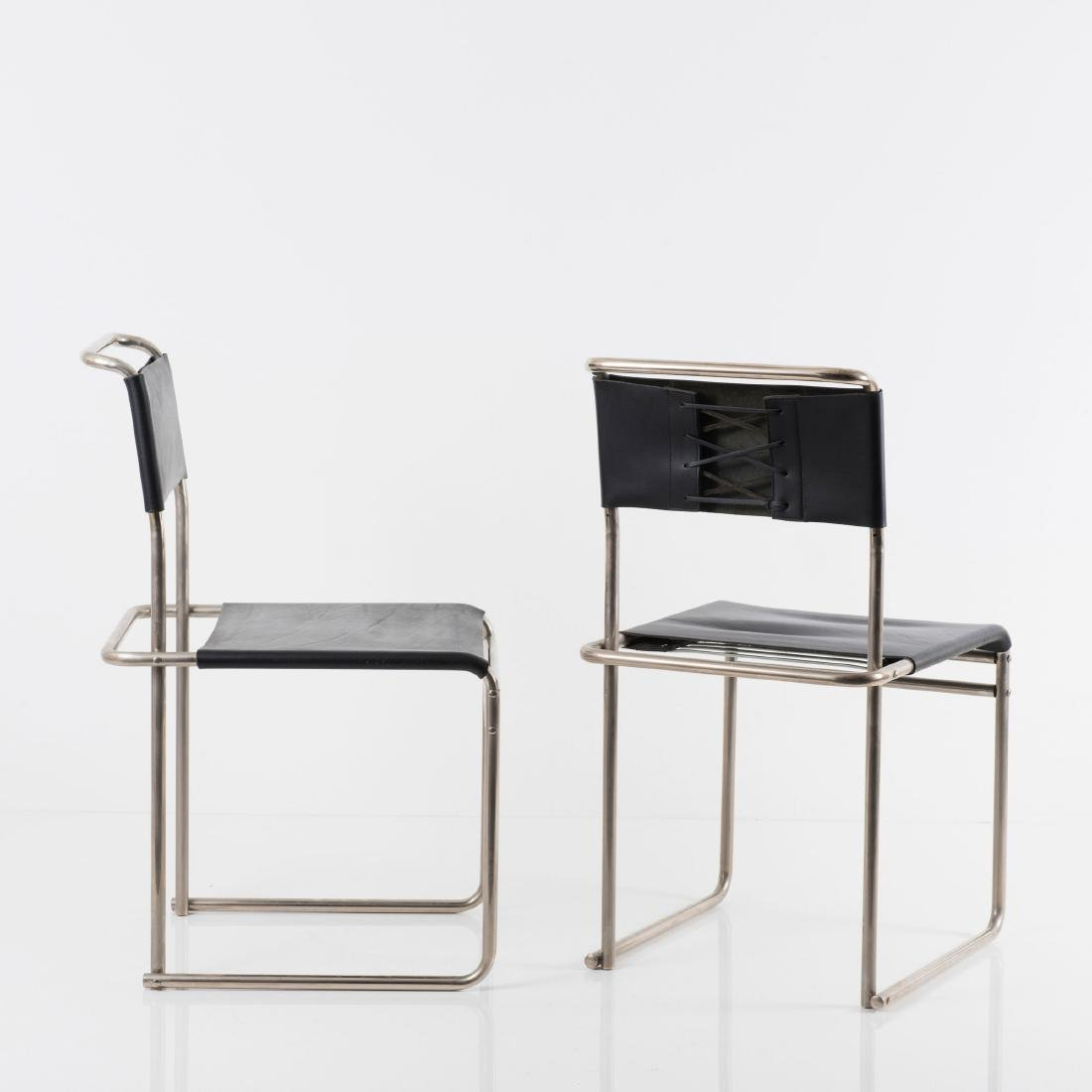 Four 'B 5' side chairs, 1926 - 9