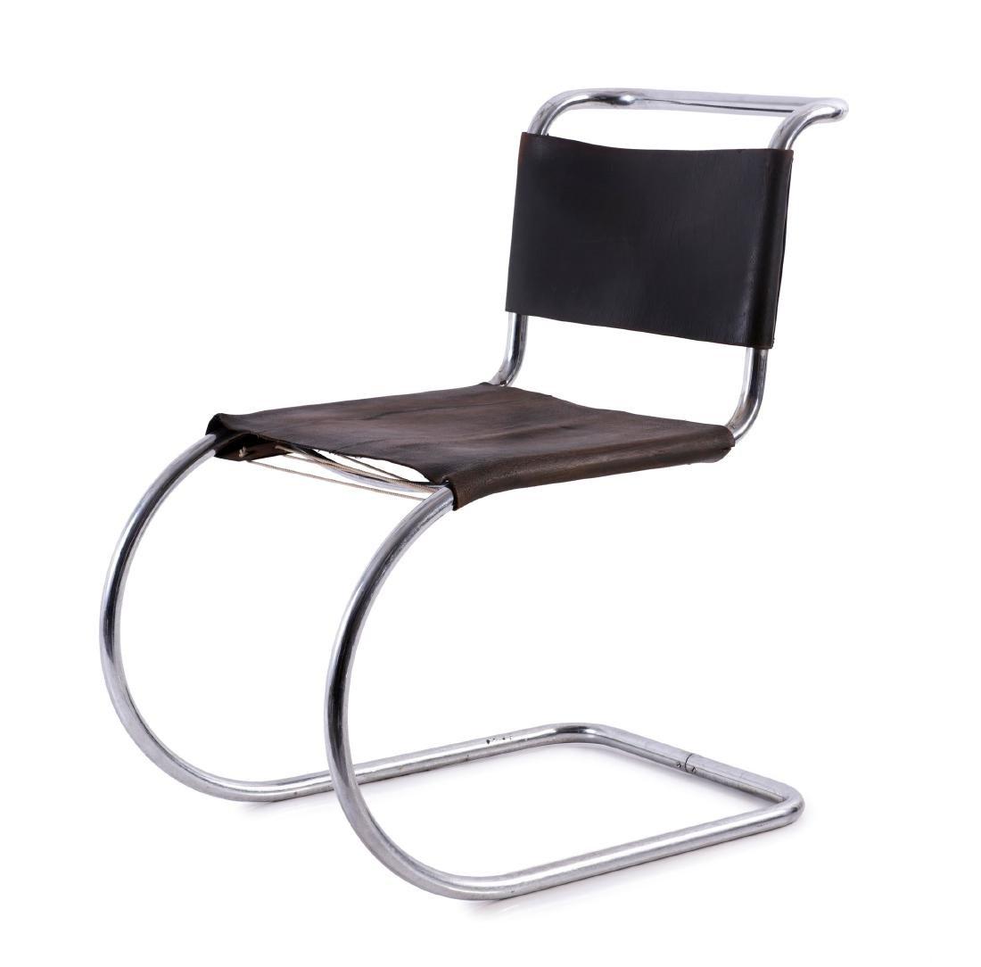 'MR 10' - 'Weissenhof' cantilever chair, 1927