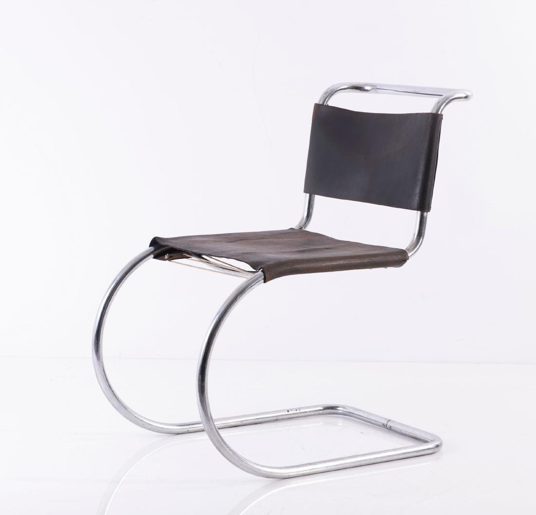 'MR 10' - 'Weissenhof' cantilever chair, 1927 - 8