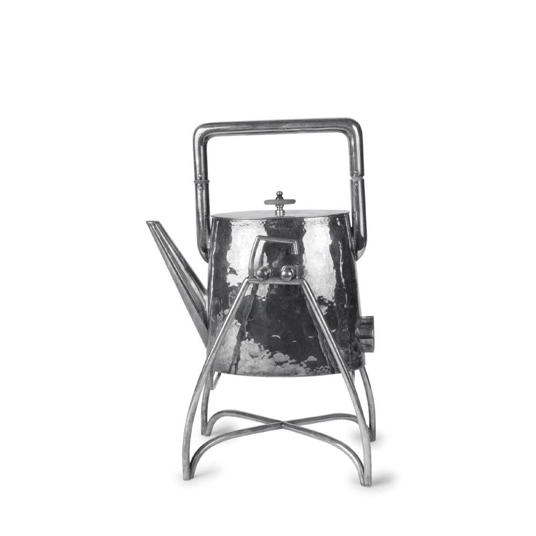 Electric water kettle with stand, c. 1930