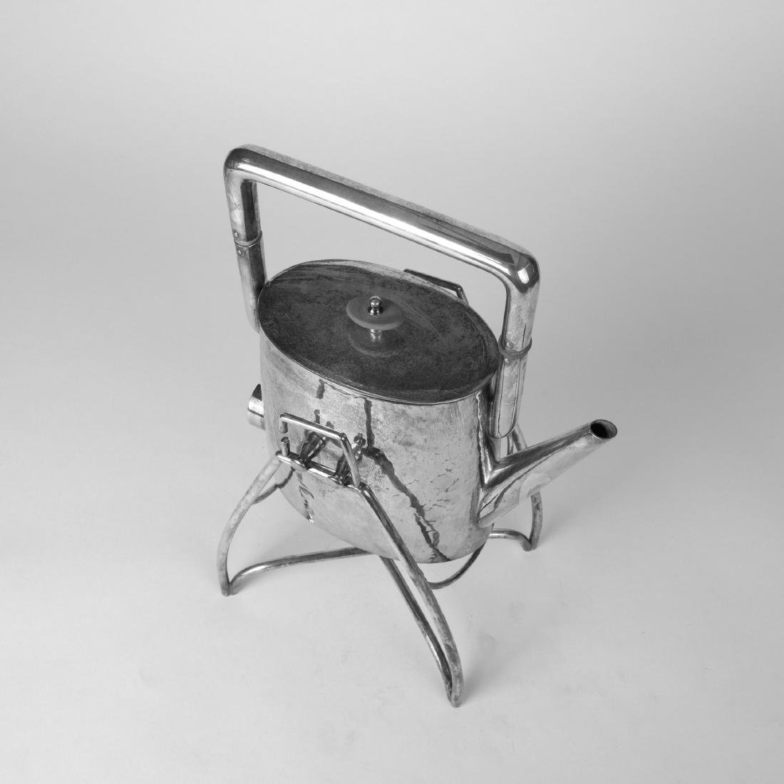 Electric water kettle with stand, c. 1930 - 3