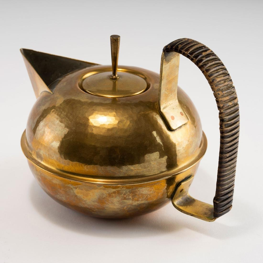 Teapot and tea caddy, c1930 - 2