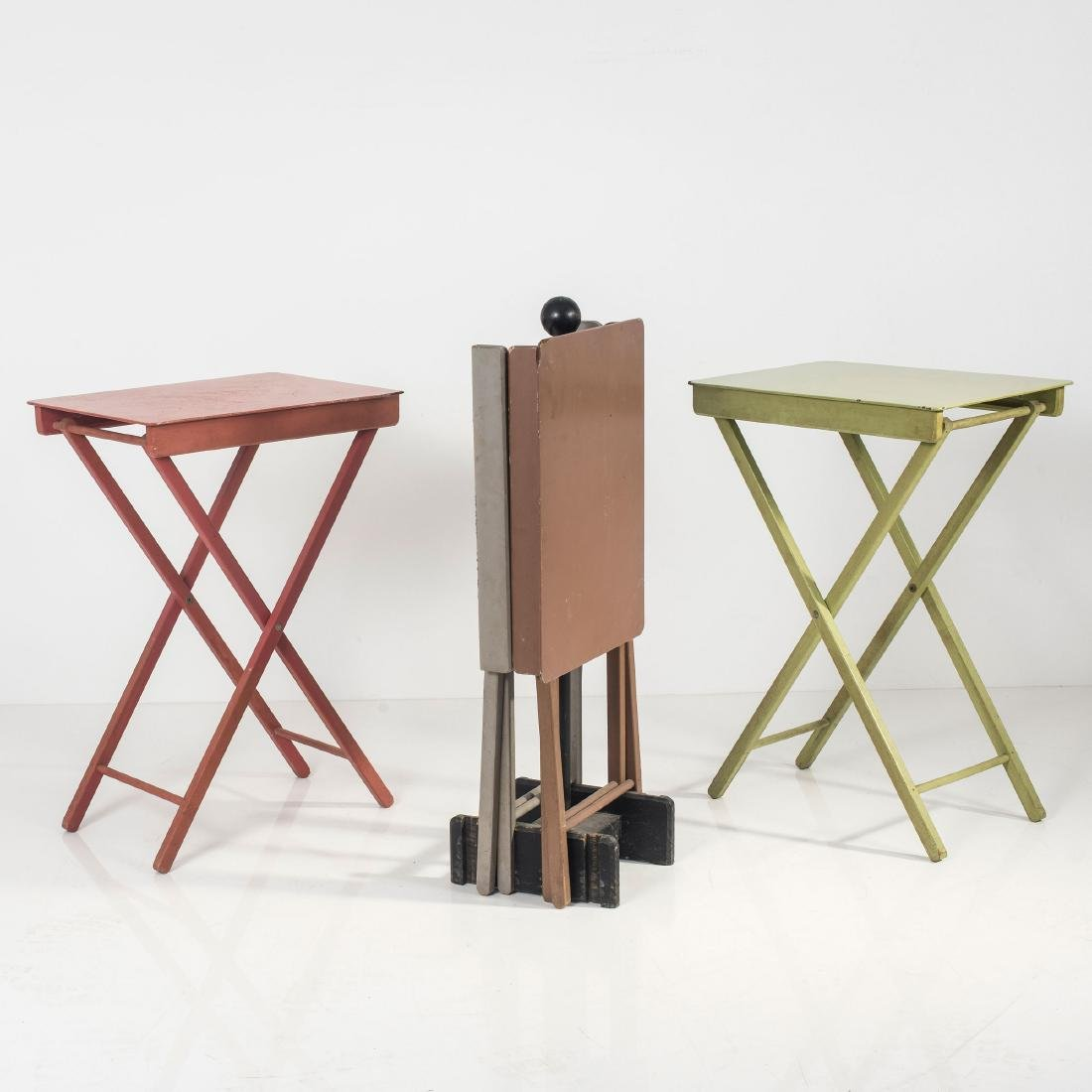 Four camping tables, 1930s - 2