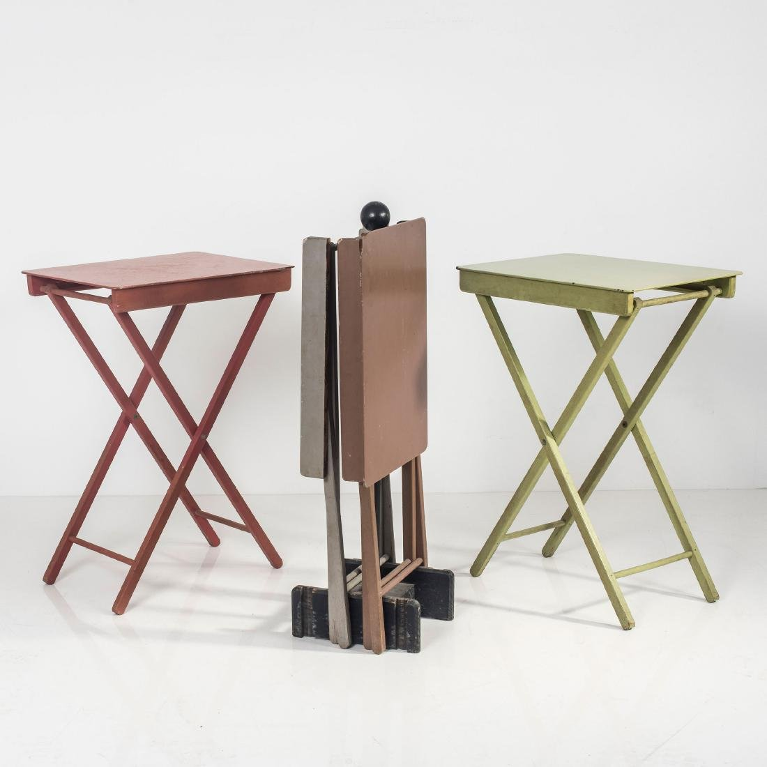 Four camping tables, 1930s - 3