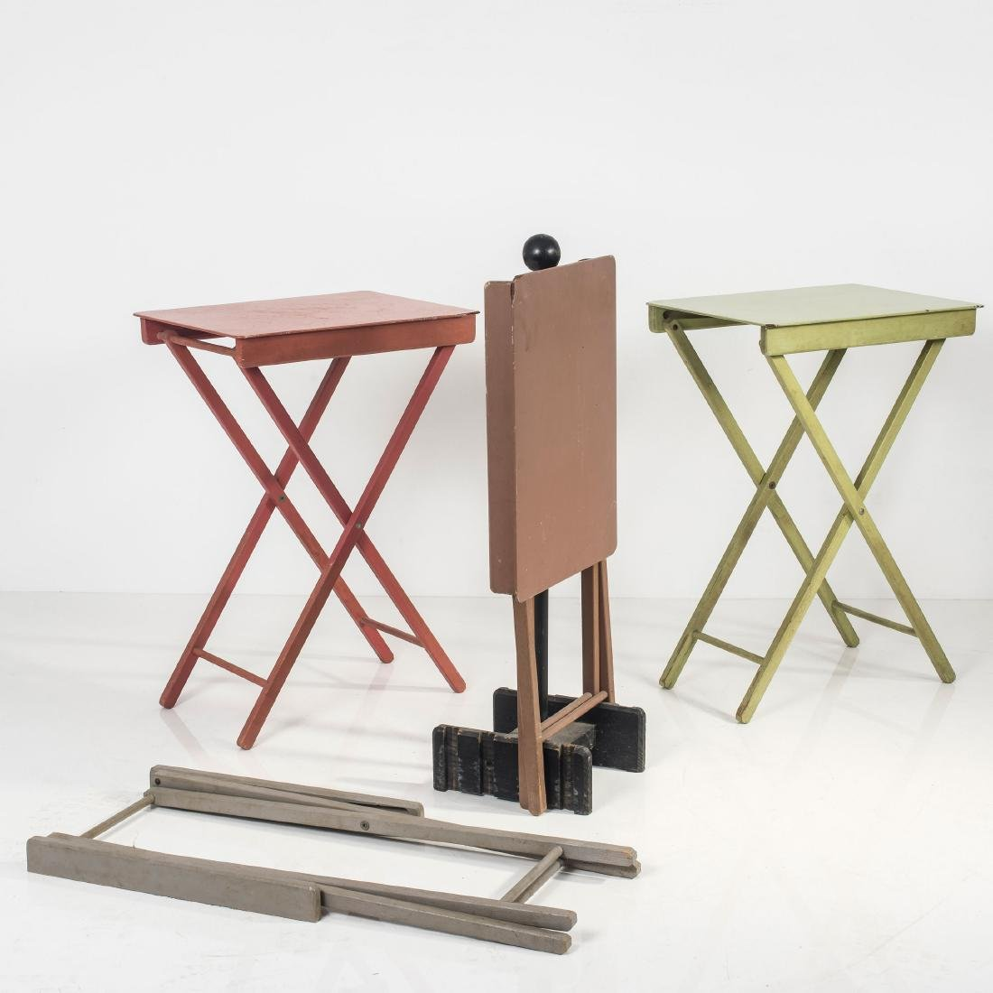 Four camping tables, 1930s - 6