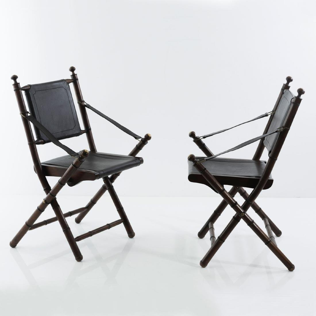 Two folding chairs, 1930/40s - 5