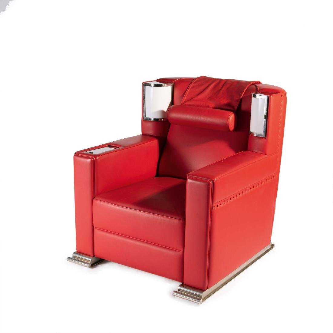 'Red comfortable chair', 1931