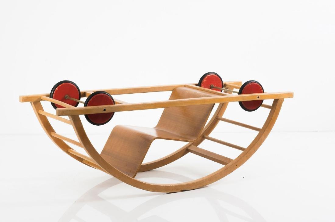 Rocking chair/car, 1950 - 2