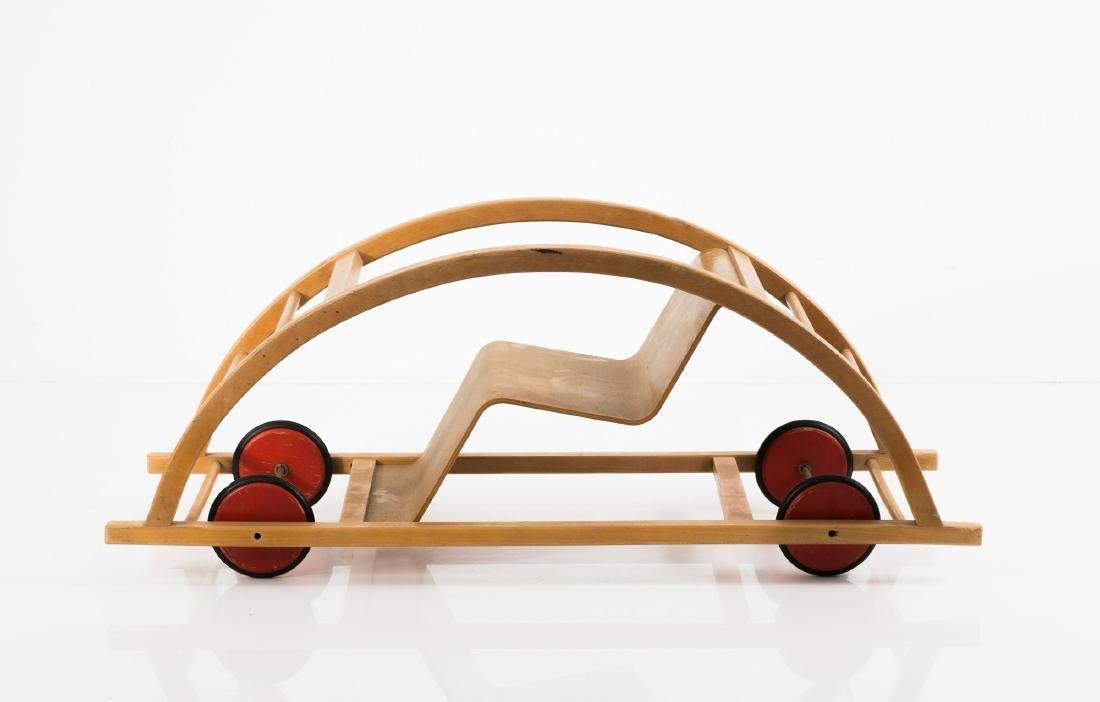 Rocking chair/car, 1950 - 4