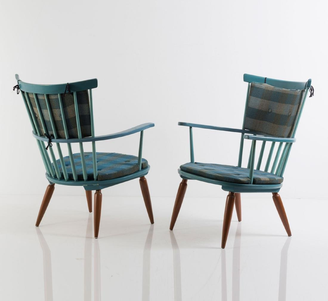 Two armchairs, 1950s - 4
