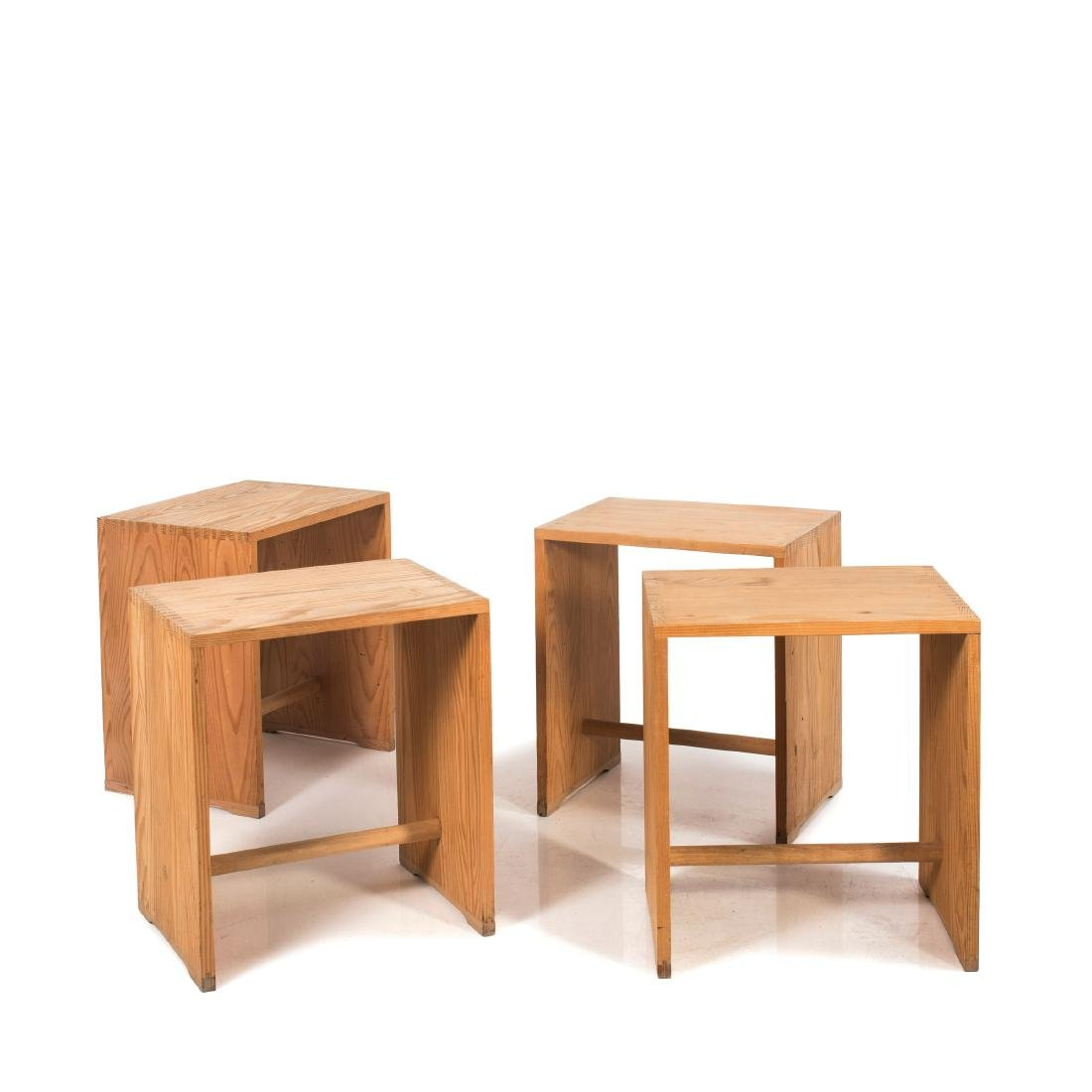 Four 'Ulm stools', 1953