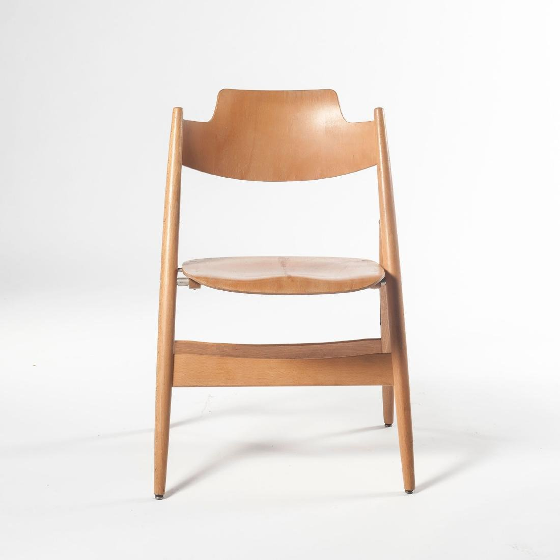 Six 'SE 18' folding chairs, 1953 - 4
