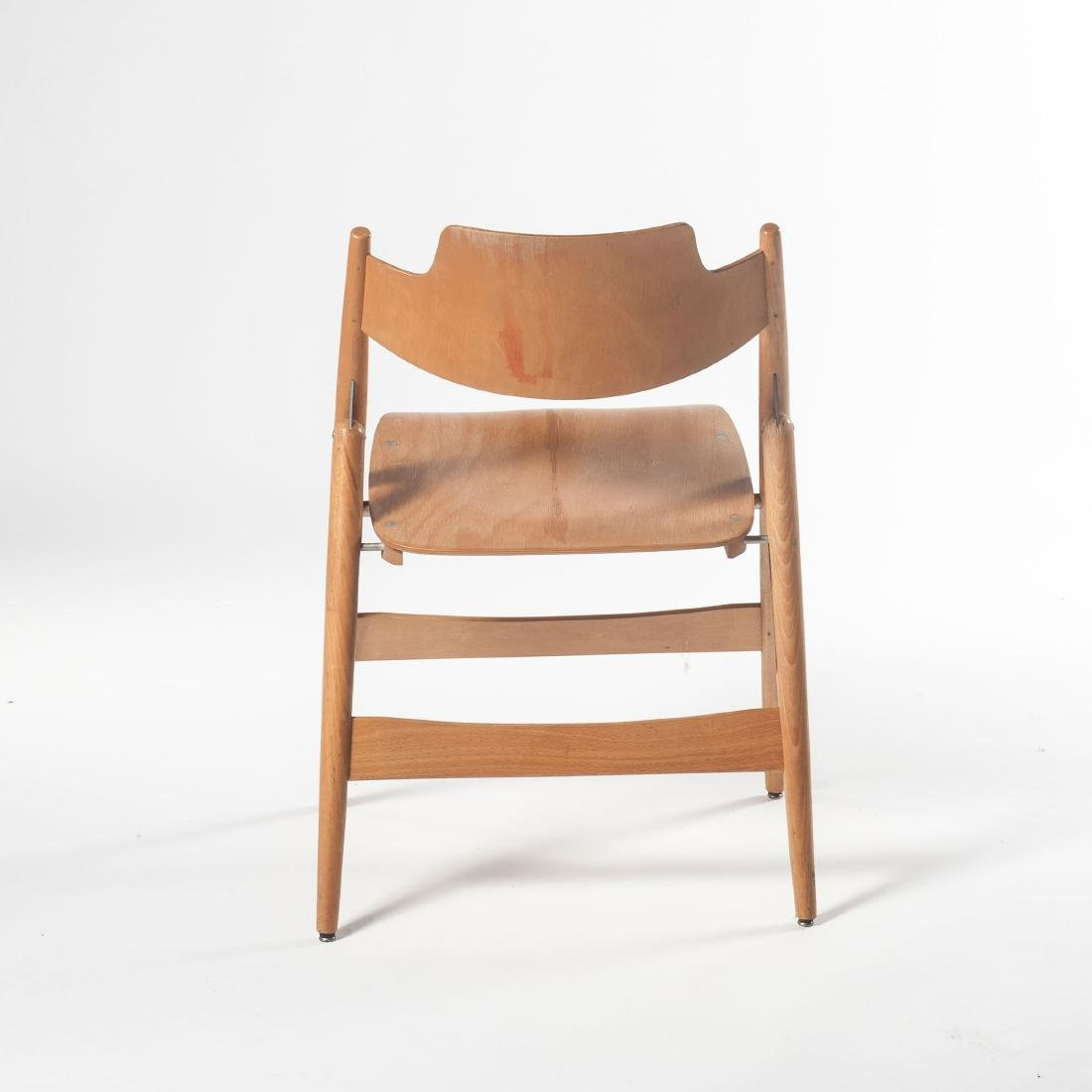 Six 'SE 18' folding chairs, 1953 - 8
