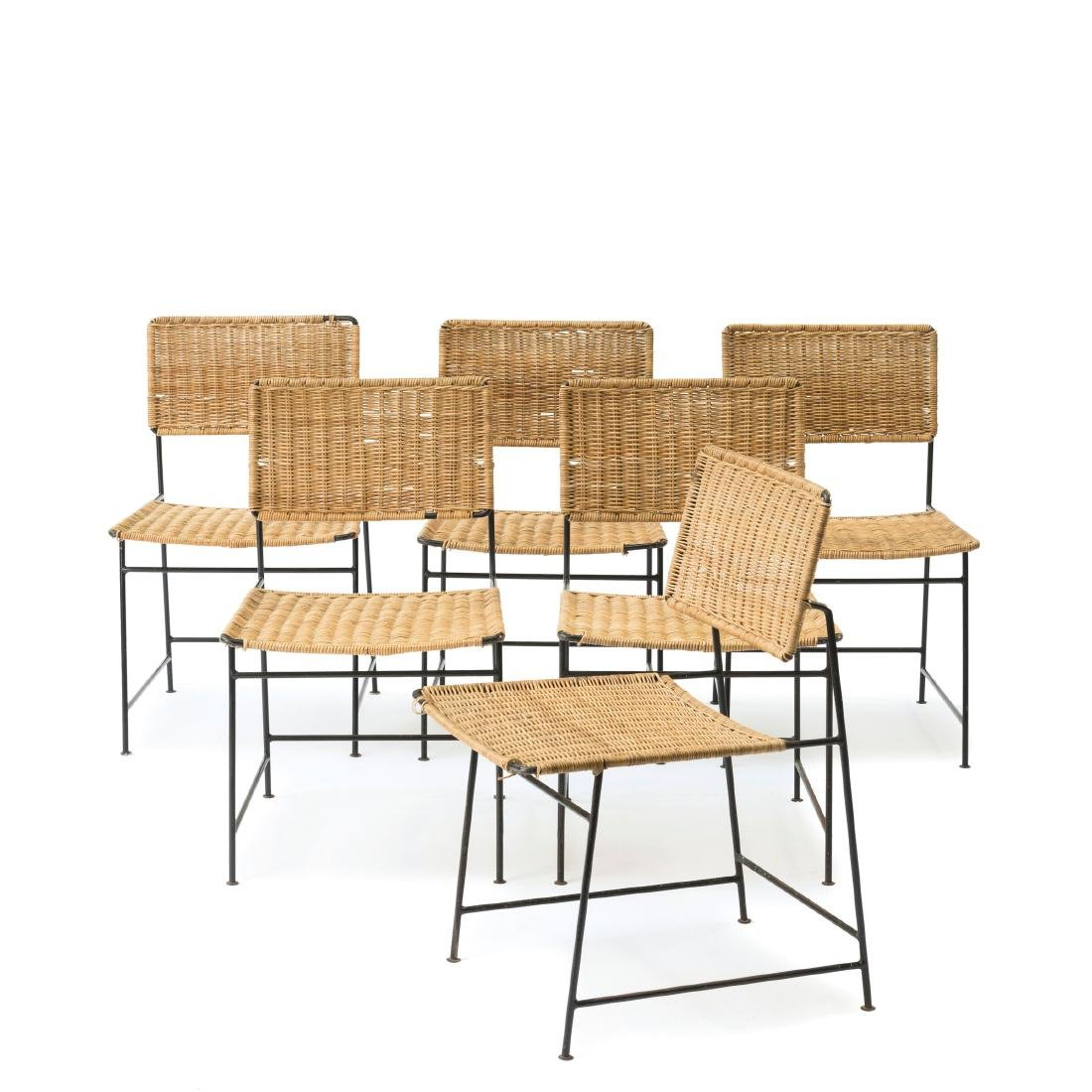 Six 'SW 88' side chairs, 1954
