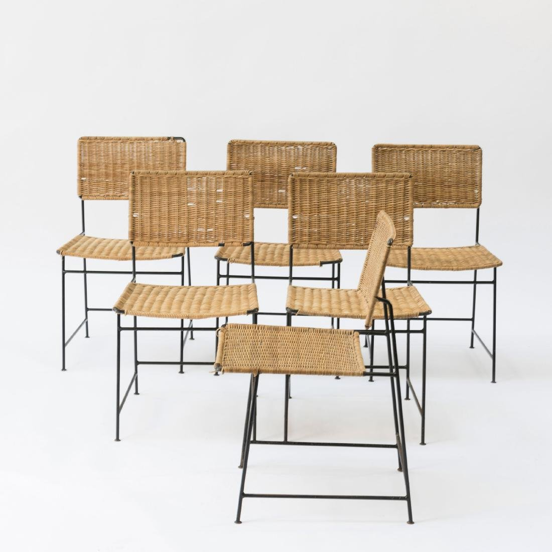 Six 'SW 88' side chairs, 1954 - 3