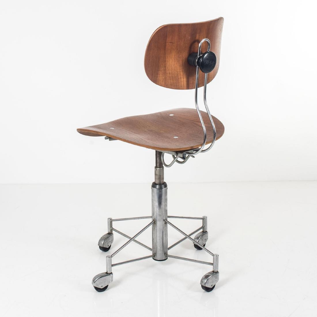 'SE 140R' desk chair, 1957 - 8