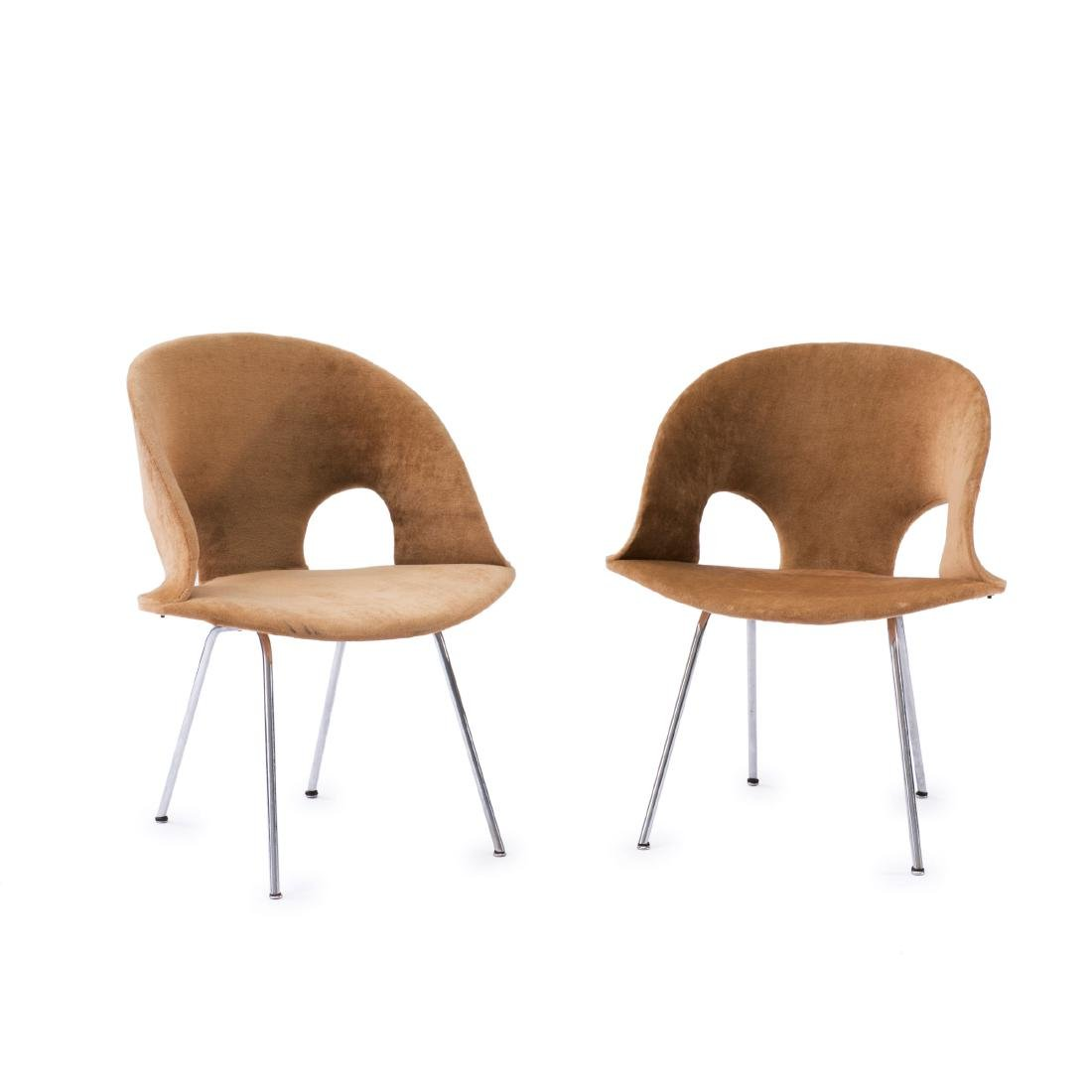 Two '350' armchairs, 1957