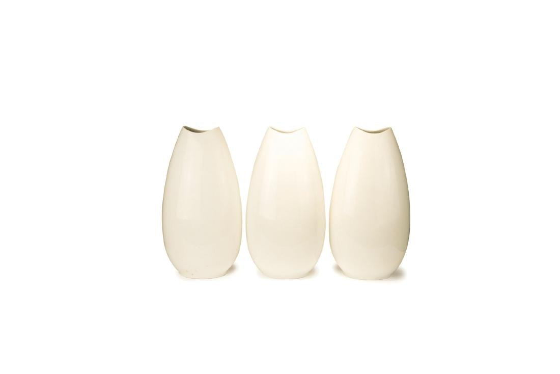 Three tall vases, 1960s