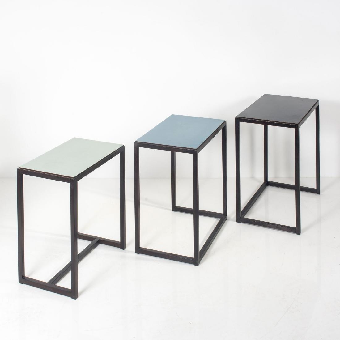 Three nesting tables, 1960s - 3