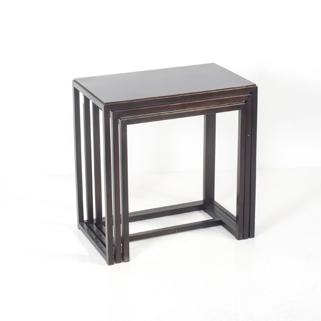 Three nesting tables, 1960s - 5