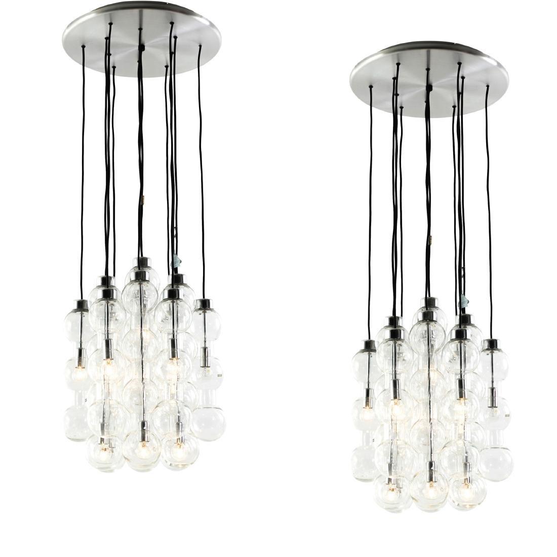 Two '4309' pendant lights, 1960s