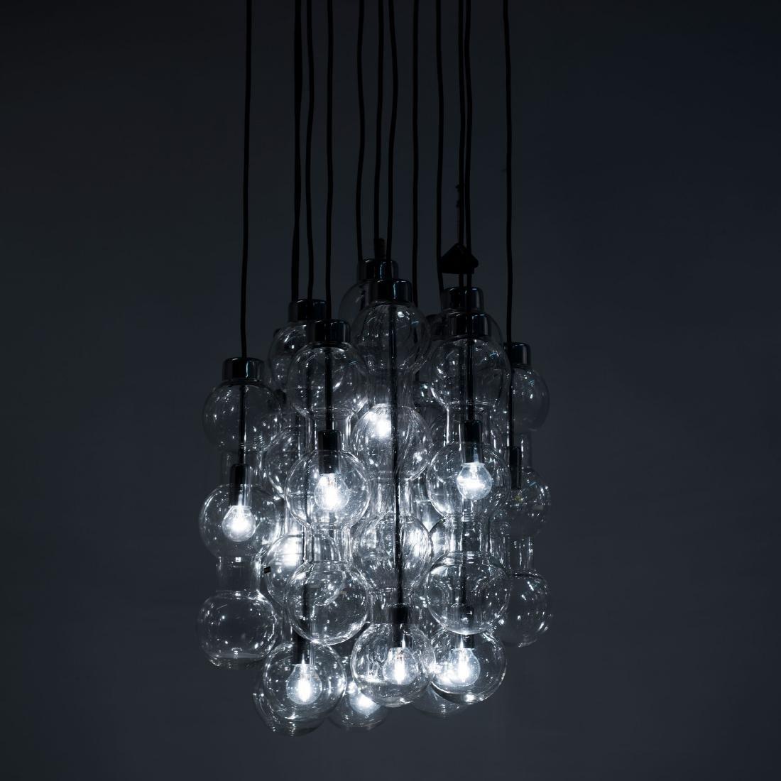 Two '4309' pendant lights, 1960s - 3