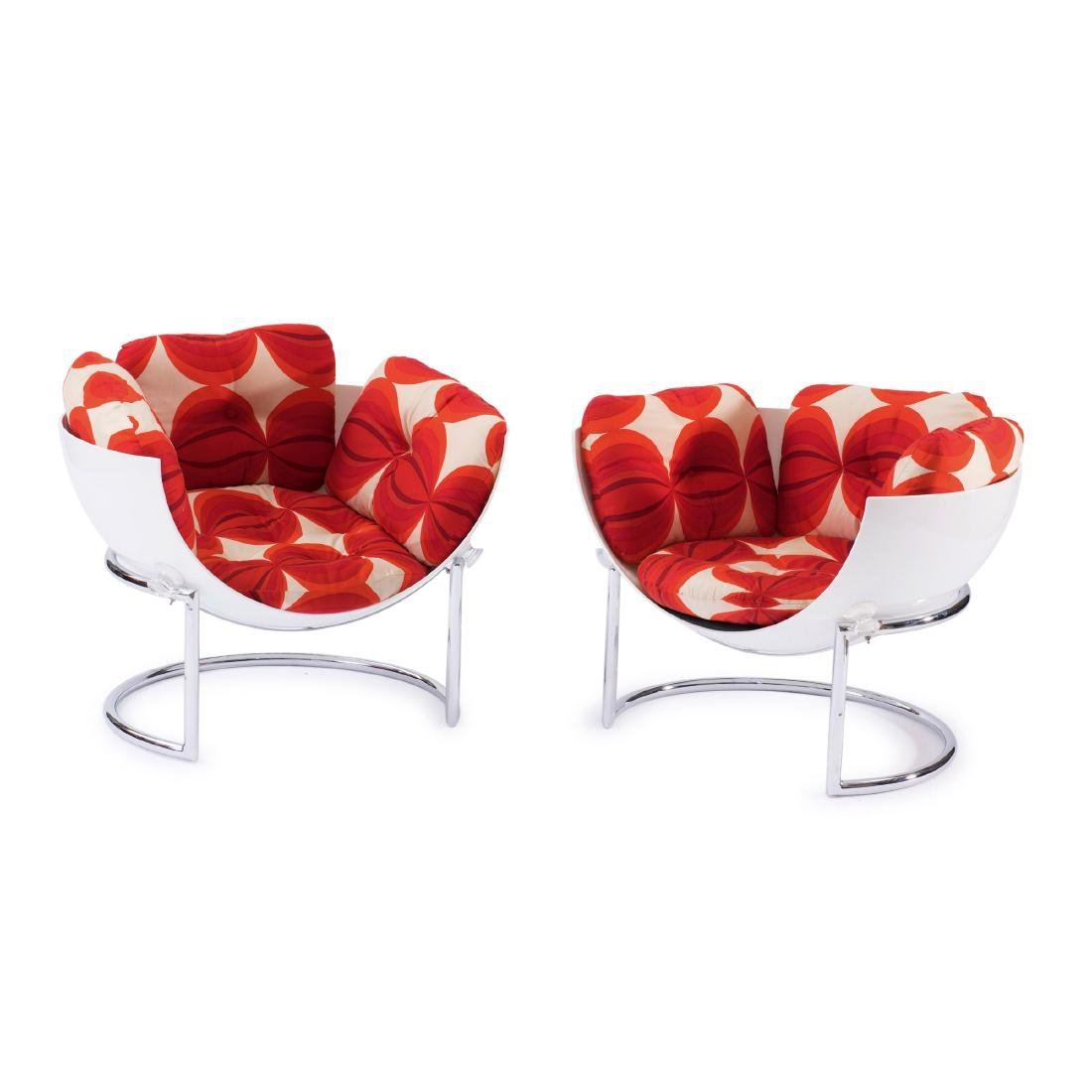 Two 'Joker' easy chairs, c. 1966