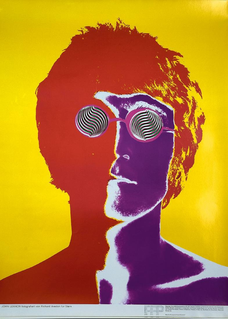 Five 'Beatles' posters, 1967