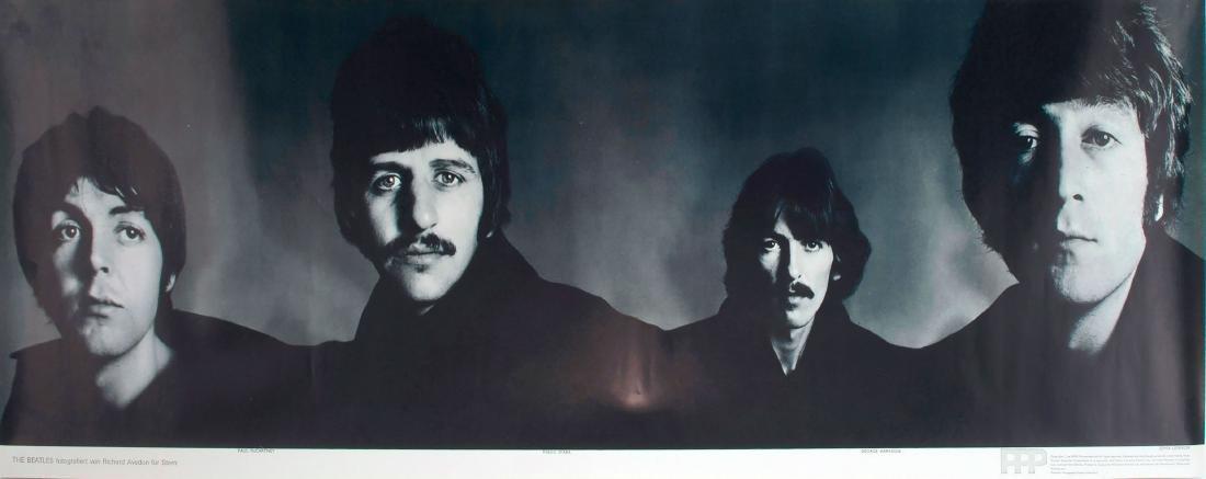 Five 'Beatles' posters, 1967 - 2