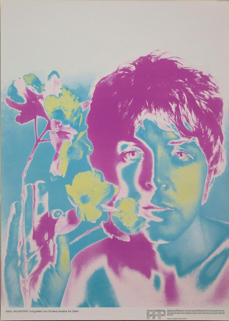 Five 'Beatles' posters, 1967 - 6