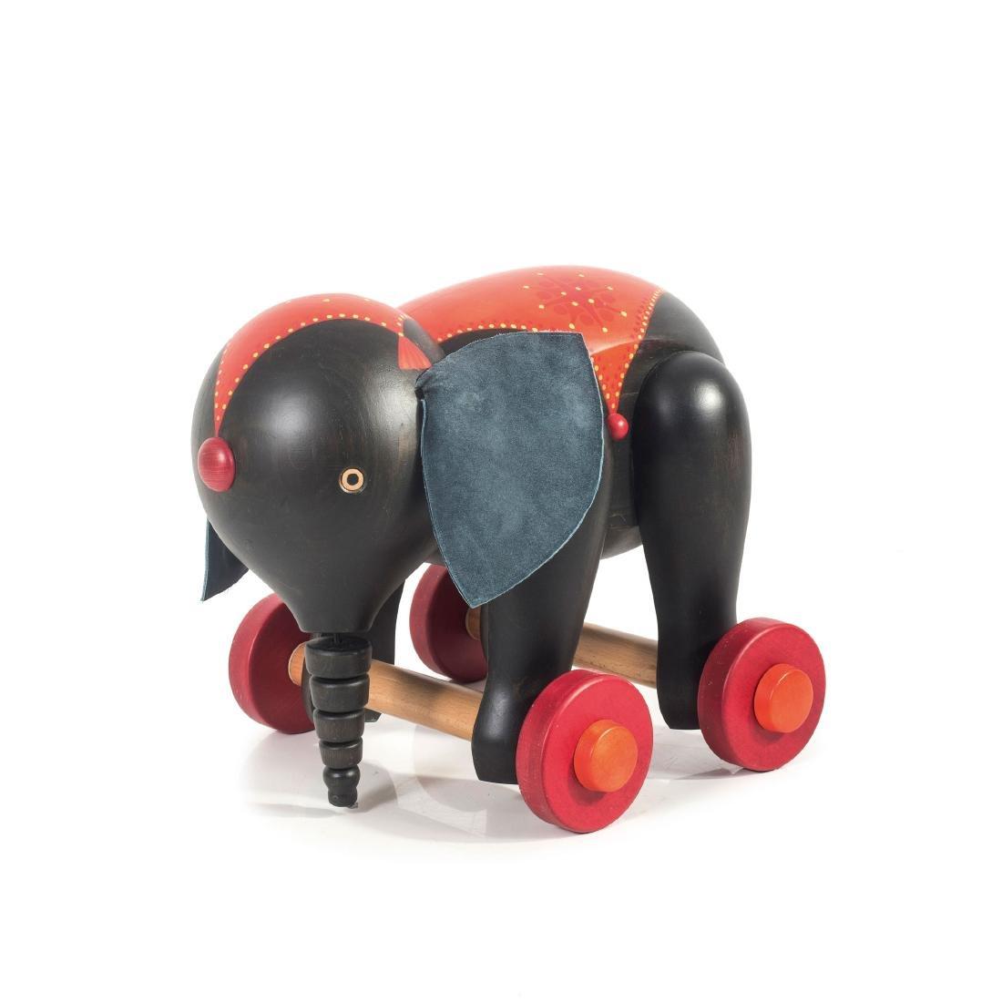 Toy elephant, 1970s
