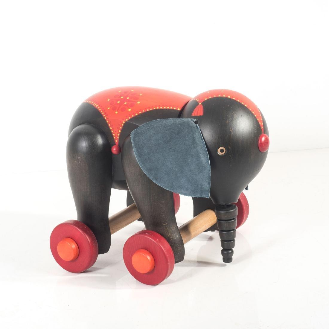 Toy elephant, 1970s - 2