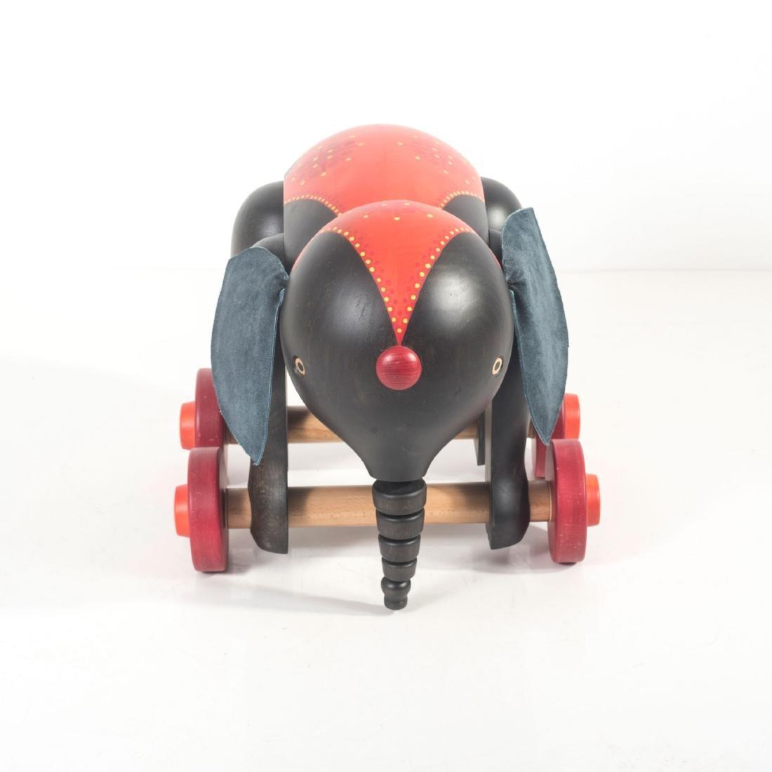 Toy elephant, 1970s - 3