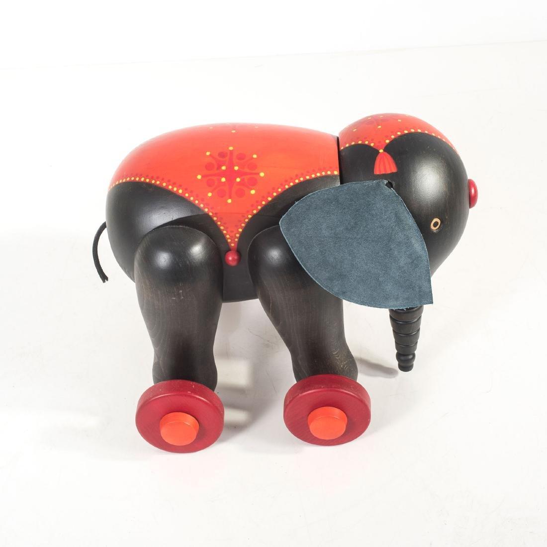 Toy elephant, 1970s - 5