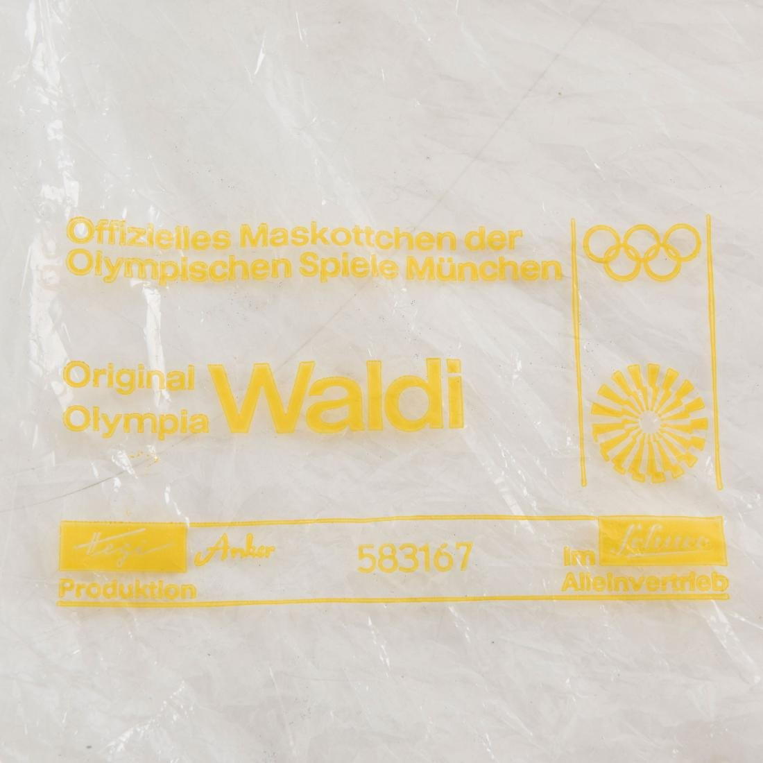 'Olympia Waldi' in original packing, c. 1971 - 6