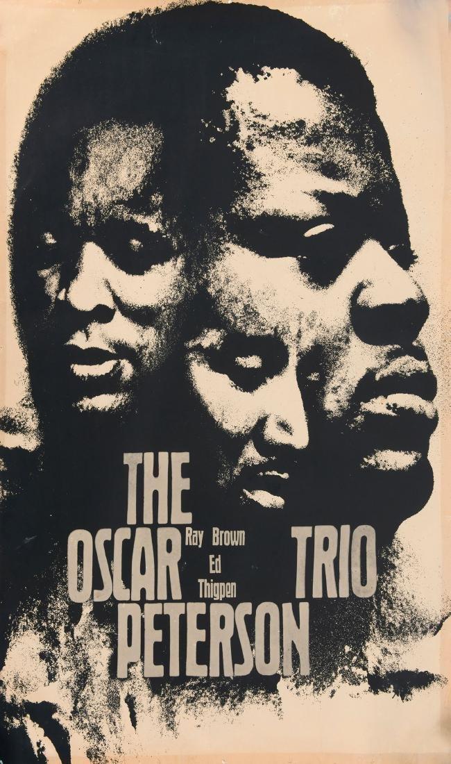 'Oskar Peterson Trio' poster, 1965