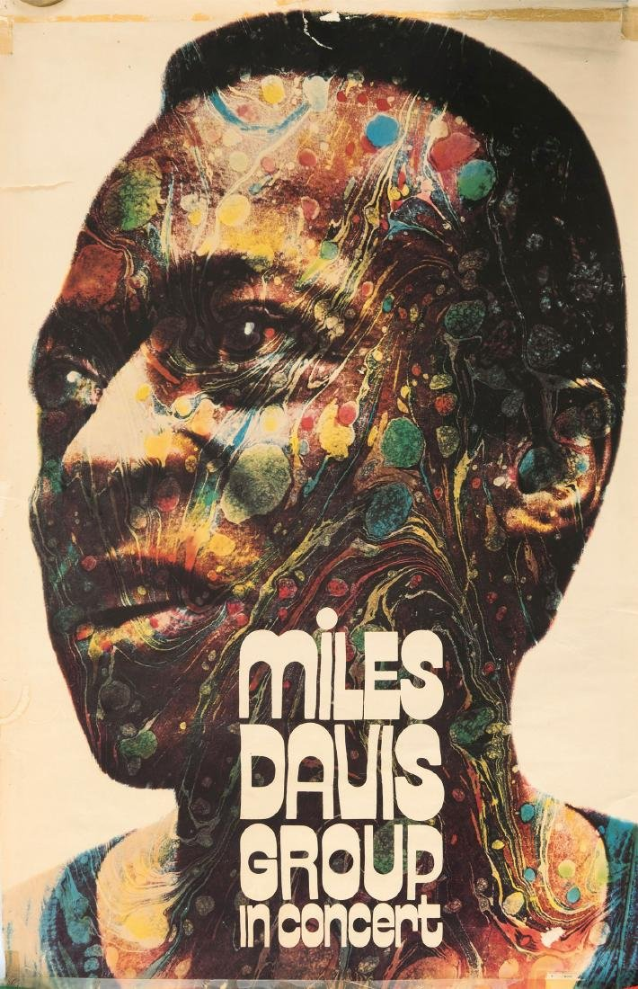 'Miles Davis Group in Concert' poster, 1971