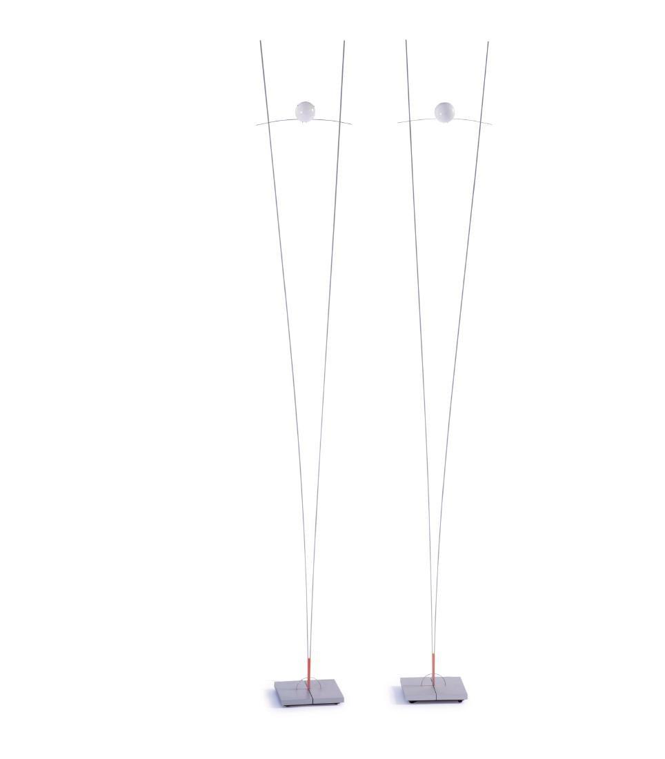 Two 'Ilios' floor lamps, 1983