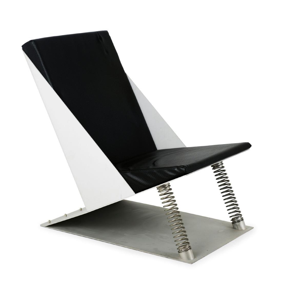 'Schleudersitz' easy chair, 1984/85
