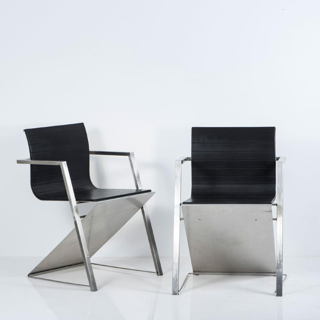 Two 'd8 Documenta' armchairs, 1987 - 2