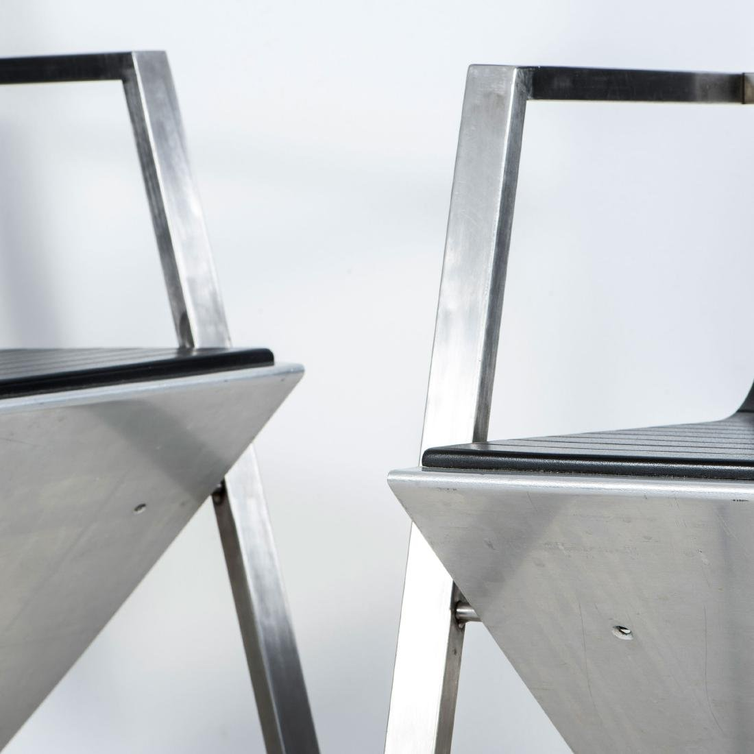 Two 'd8 Documenta' armchairs, 1987 - 4