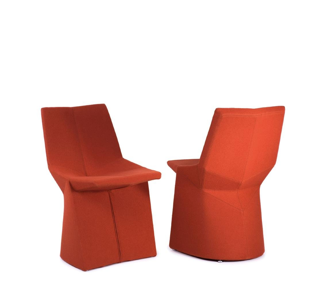 Two 'Mars' side chairs, 2003