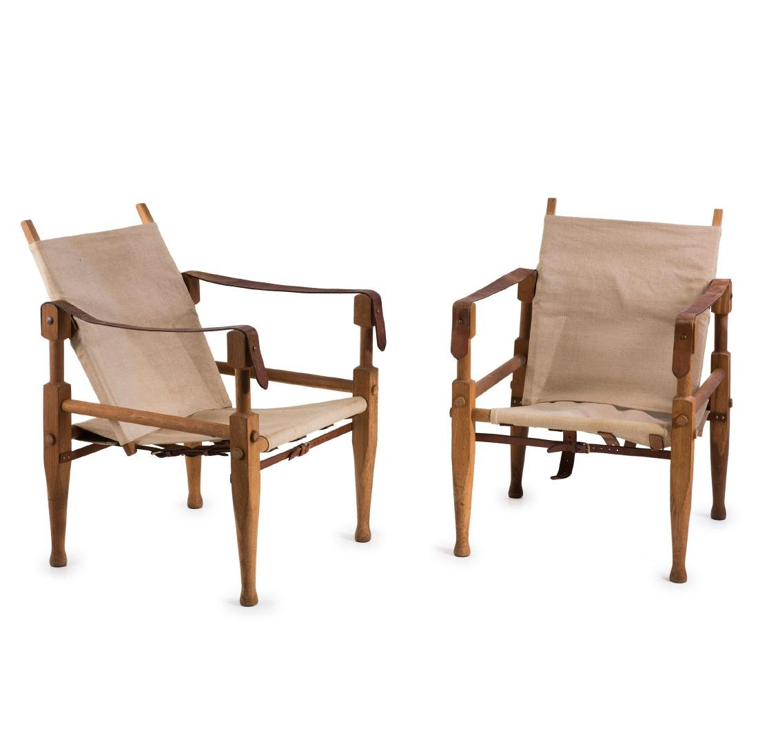 Two 'Colonial' folding chairs, c. 1928