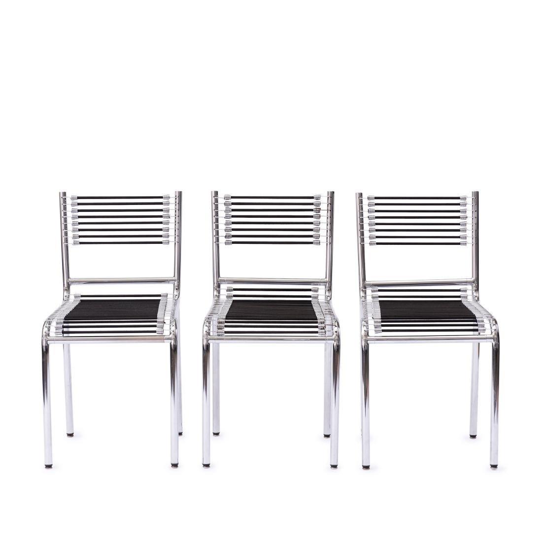 Three '101' chairs, 1930